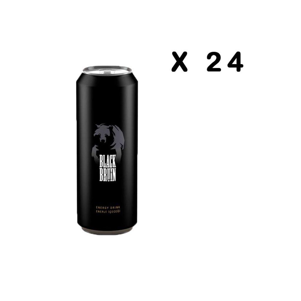 نوشیدنی انرژی زا بلک برن اصلی 500 میلی لیتر پک 24 عددی Black bruin