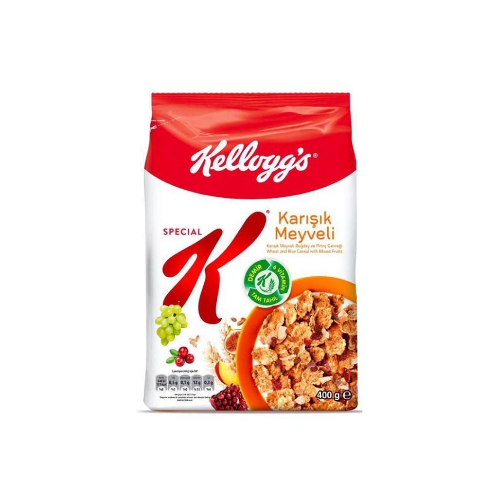کورن فلکس مخلوط میوه 400 گرمی اسپشیال کلاگز Kelloggs Special