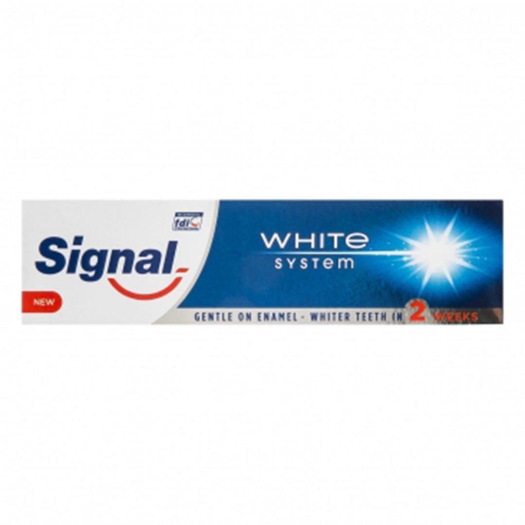 خمیر دندان سفید کننده 75 میلی سیگنال Signal