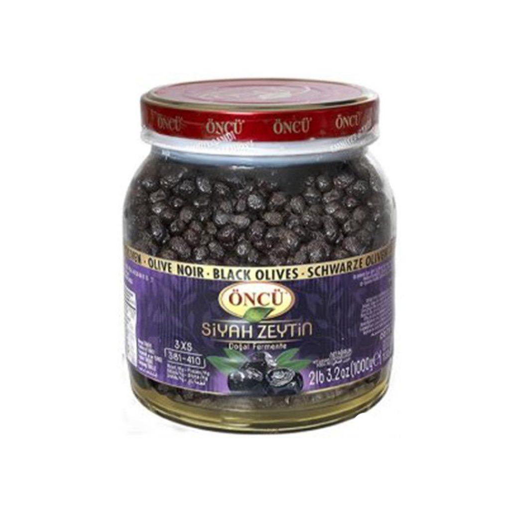 زیتون سیاه خشک 1000 گرمی کالیبر لوراس Oncu Siyah Zeytin Loras