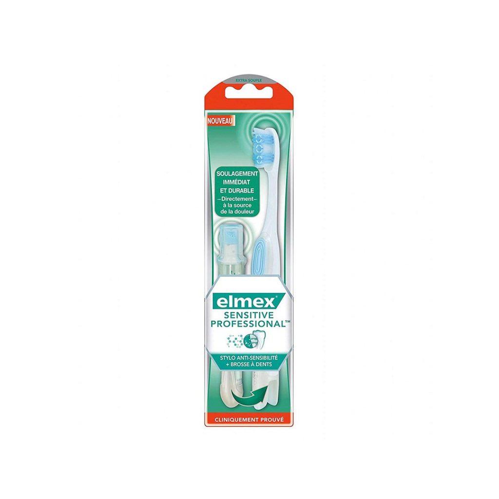 مسواک حرفه ای سفید کننده و ضد درد Elmex Sensitive