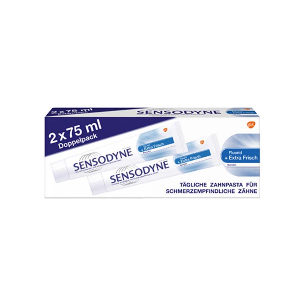 پکیج اقتصادی 2 عددی خمیردندان محافظت کننده دندان سنسوداین Sensodyne