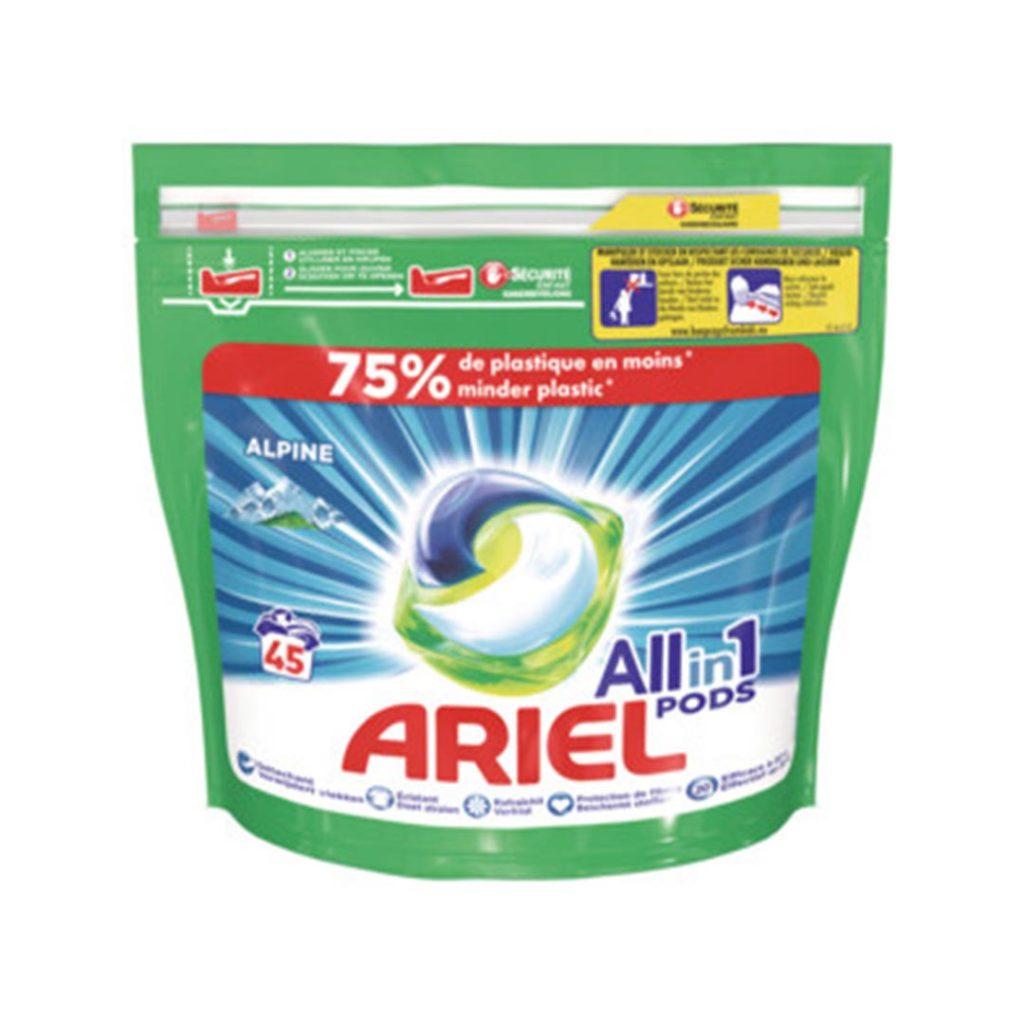 قرص ماشین ظرفشویی بسته 45 عددی آریل Ariel