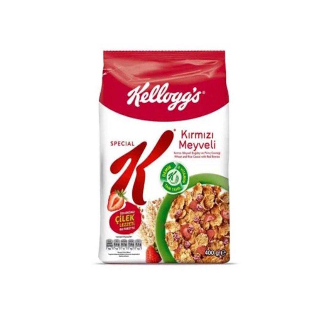 کورن فلکس میوه های قرمز 400 گرمی اسپشیال کلاگز Kelloggs Special